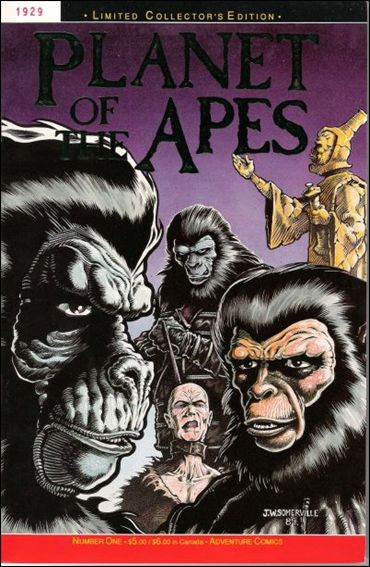 Planet of the Apes (1990) 1-B by Adventure