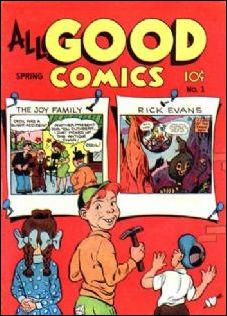 All Good Comics (1946) 1-A by Fox