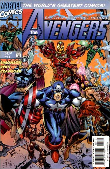 Avengers (1996)   11-A by Marvel
