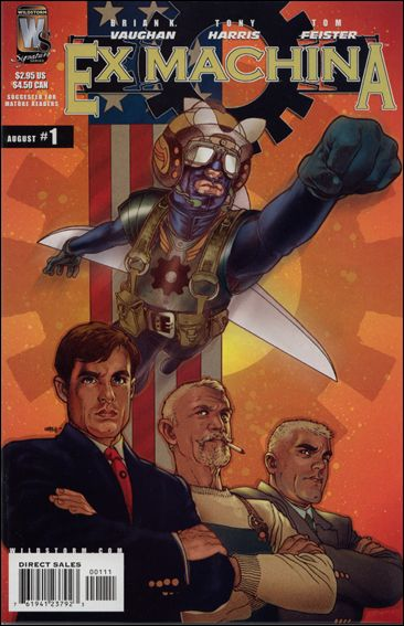 Ex Machina 1-A by WildStorm