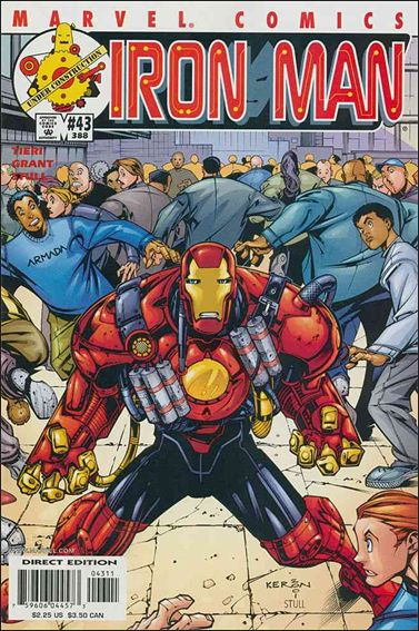 Iron Man (1998) 43-A by Marvel