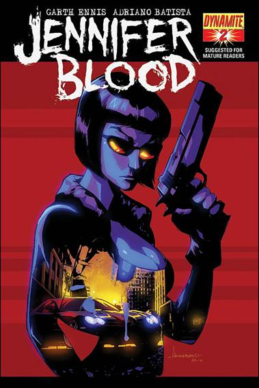 Jennifer Blood 2-C by Dynamite Entertainment
