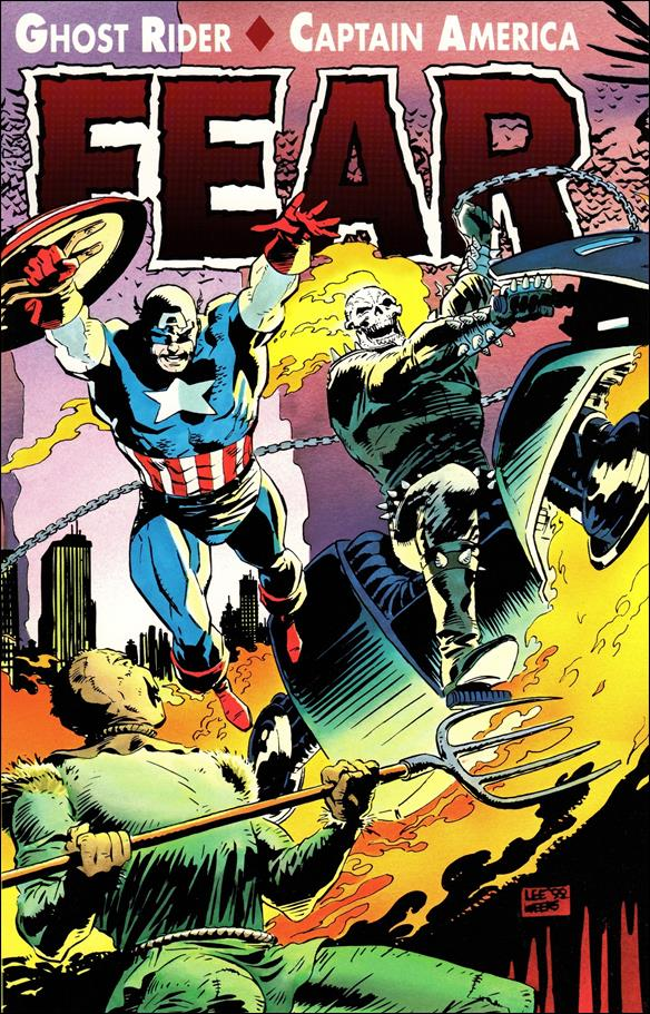 Ghost Rider/Captain America: Fear 1-A by Marvel