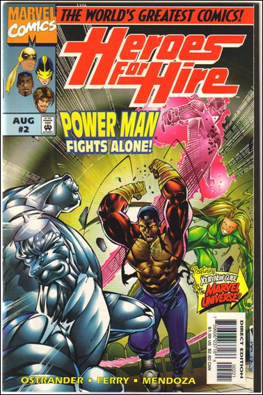 Heroes for Hire (1997) 2-B by Marvel