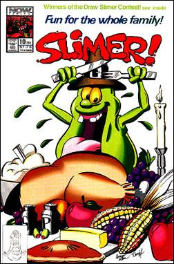 Slimer! 10-A by Now Comics