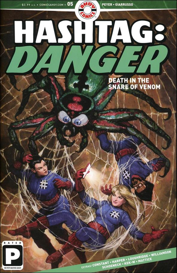 Hashtag: Danger 5-A by Ahoy Comics