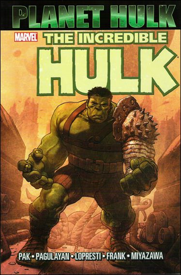 Hulk: Planet Hulk 1-A by Marvel