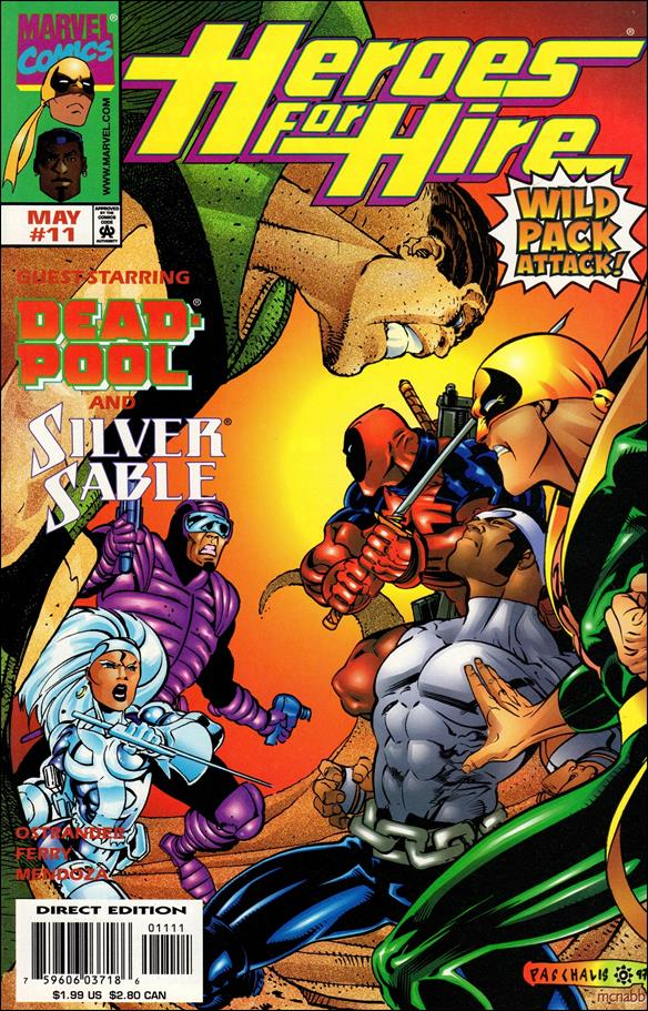 Heroes for Hire (1997) 11-A by Marvel