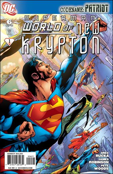Superman: World of New Krypton 6-B by DC