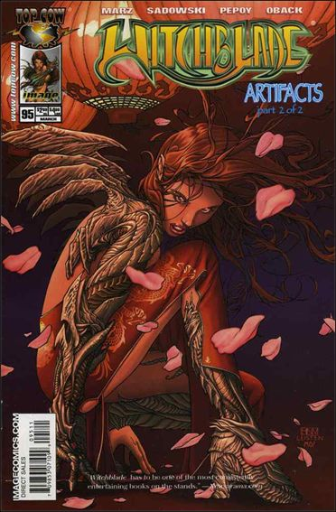 Witchblade 95-A by Top Cow