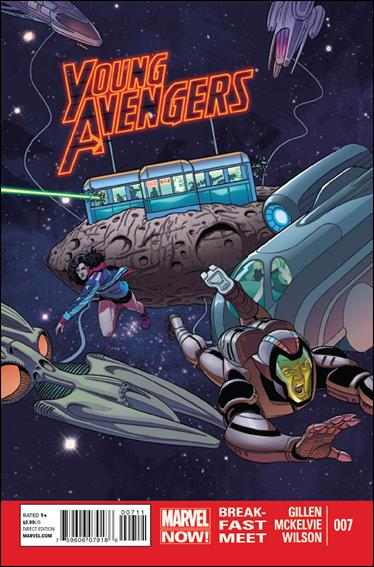 Young Avengers (2013) 7-A by Marvel