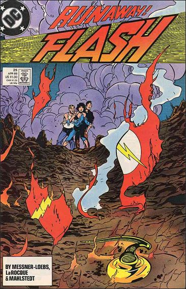 Flash (1987) 25-A by DC