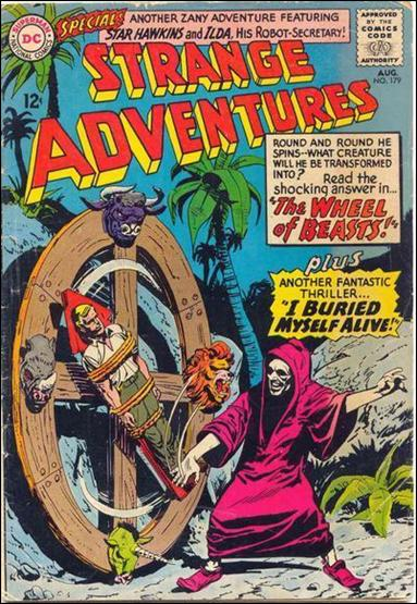 Strange Adventures (1950) 179-A by DC