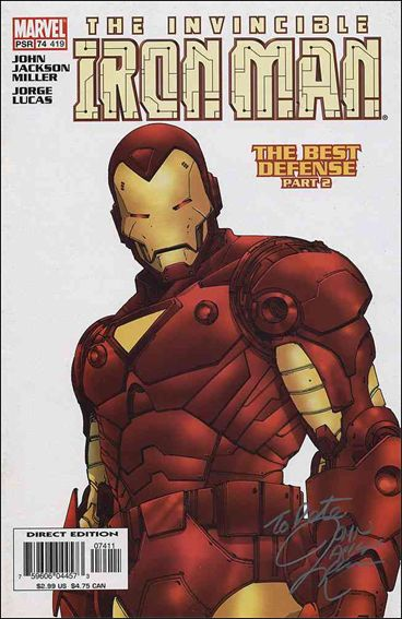 Iron Man (1998) 74-A by Marvel