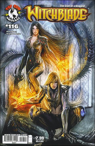Witchblade 116-A by Top Cow