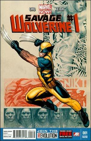 Savage Wolverine 1-I by Marvel
