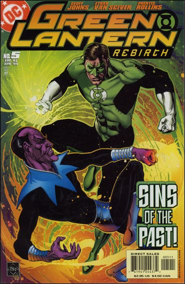 Green Lantern: Rebirth 5-A by DC