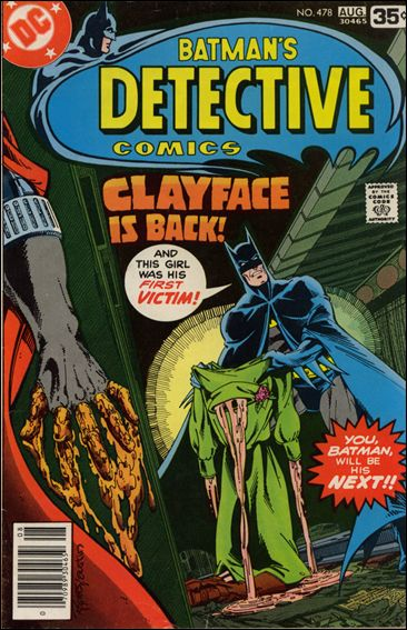 Detective Comics (1937) 478-A by DC