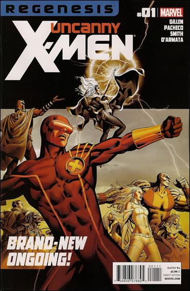 Uncanny X-Men (2012) 1-A by Marvel