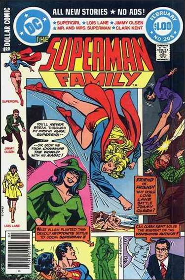 Superman Family 205-A by DC