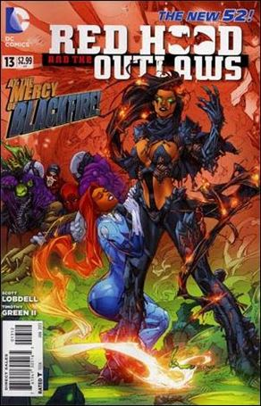 Red Hood and the Outlaws  13-B