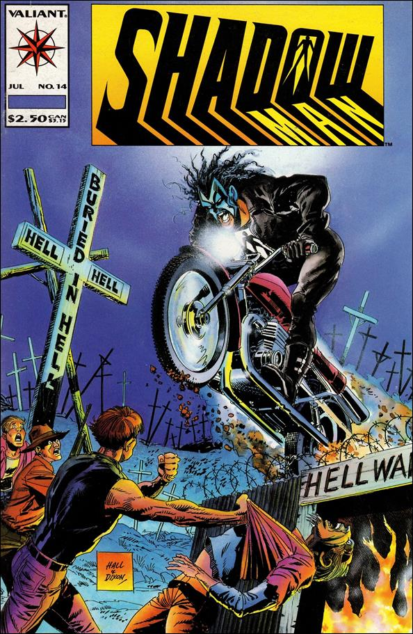 Shadowman (1992) 14-A by Valiant