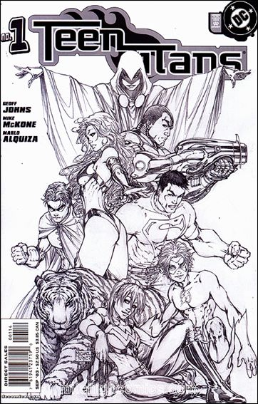 Teen Titans (2003) 1-E by DC