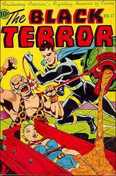 Black Terror (1942) 17-A by Nedor