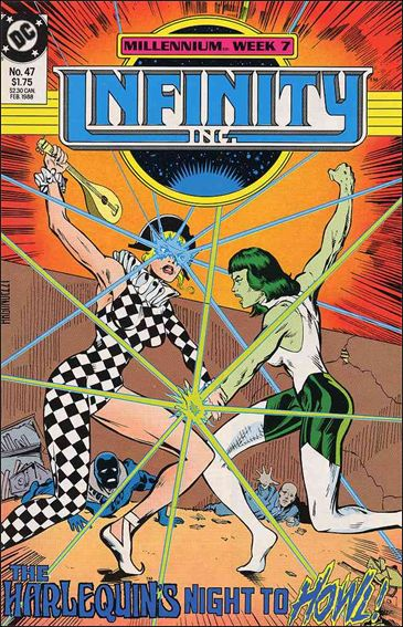 Infinity Inc. (1984) 47-A by DC
