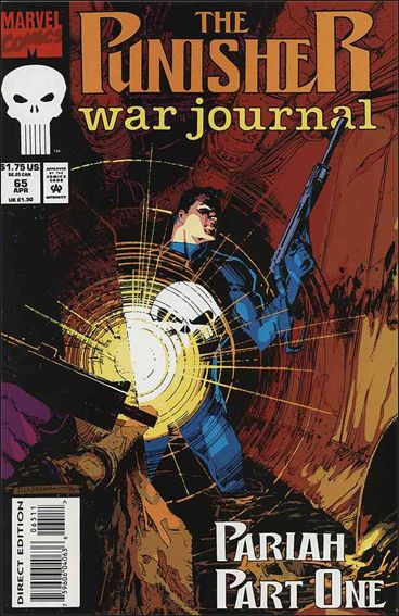 Punisher War Journal (1988) 65-A by Marvel