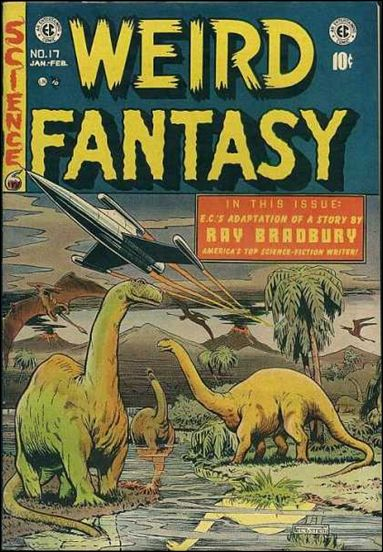Weird Fantasy (1950) 17-A by E.C.