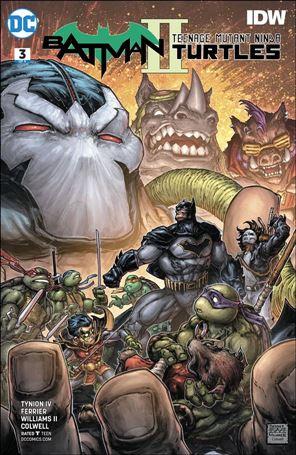 Batman/Teenage Mutant Ninja Turtles II 3-A