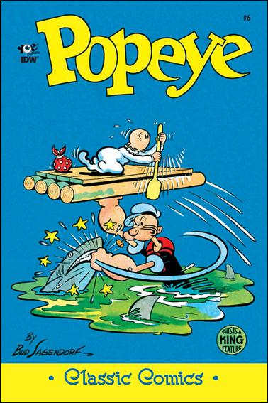 Classic Popeye 6-A by IDW