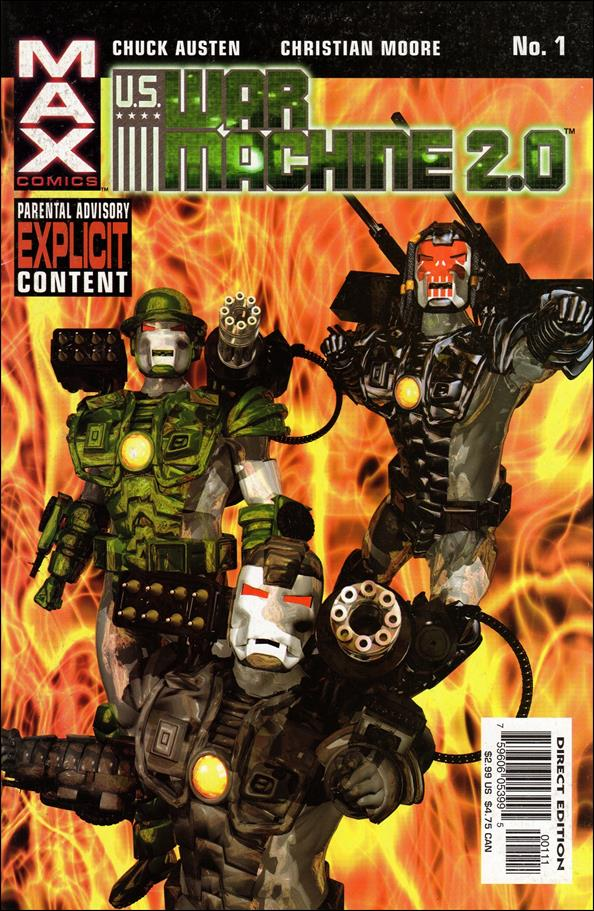 U.S. War Machine 2.0 1-A by Max