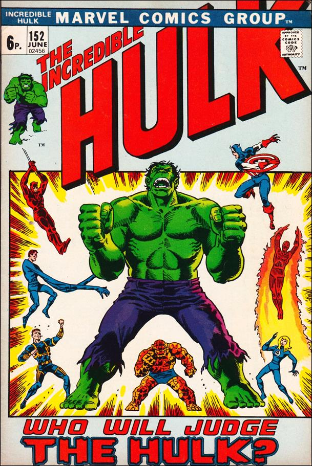 Incredible Hulk (1968) 152-B by Marvel