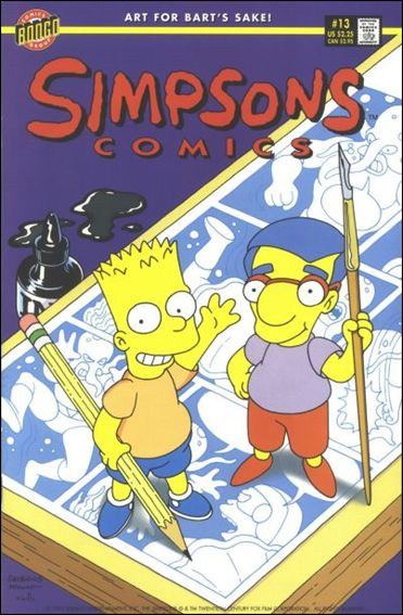 Simpsons Comics 13-A by Bongo