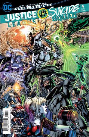 Justice League Vs Suicide Squad 4-A