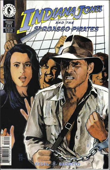 Indiana Jones and the Sargasso Pirates 3-A by Dark Horse
