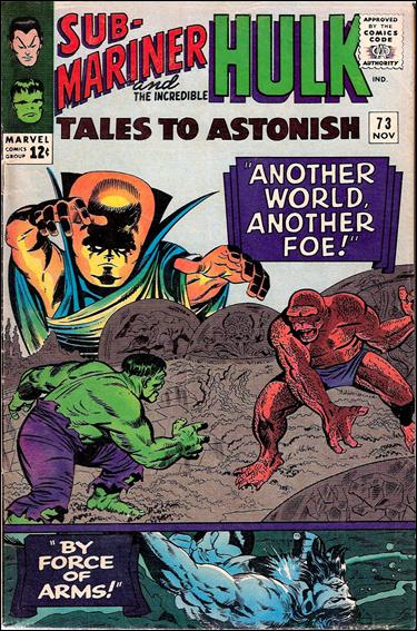 Tales to Astonish (1959) 73-A by Marvel