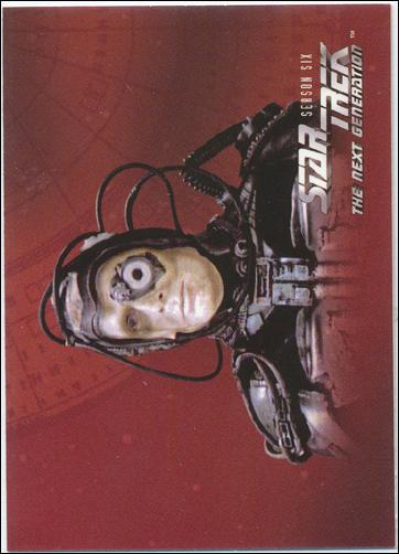 Star Trek: The Next Generation - The Episode Collection Season Six (Base Set) 537-A by Fleer/SkyBox