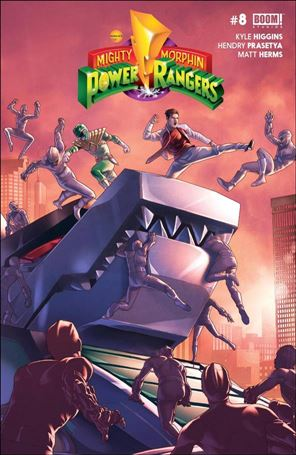 Mighty Morphin Power Rangers 8-A