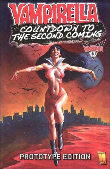 Countdown to Vampirella: The Second Coming - Prototype Edition 1-A by Harris