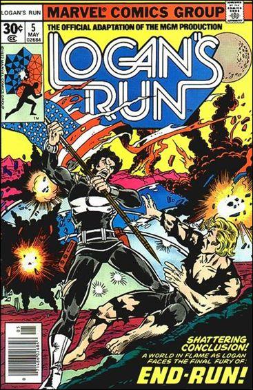Logan's Run (1977) 5-A by Marvel