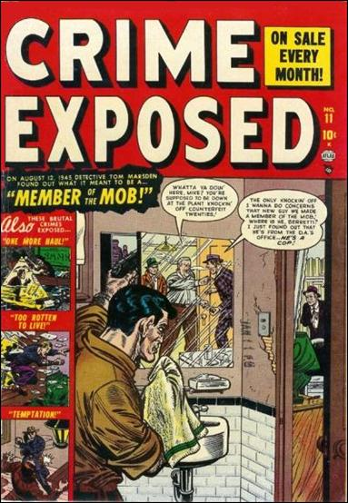 Crime Exposed (1950) 11-A by Marvel