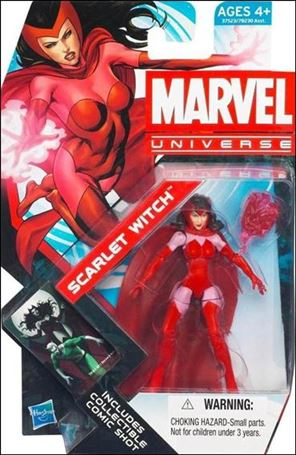 Marvel Universe (Series 4) Scarlet Witch