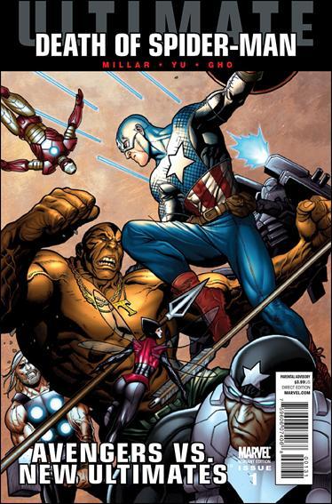 Ultimate Avengers vs New Ultimates 1-B by Marvel
