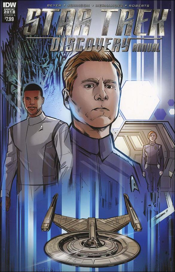 Star Trek: Discovery Annual 2018-A by IDW