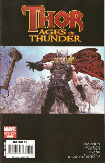 Thor: Ages of Thunder 1-B by Marvel
