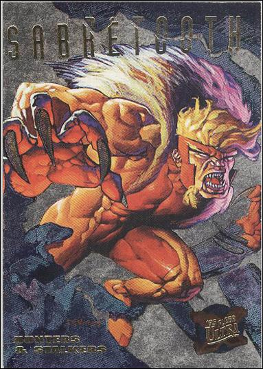 1995 Fleer Ultra X-Men (Hunters & Stalkers Subset) 6-C by Fleer