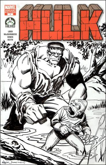 Hulk 100 (Hero Initiative) Cover Project 6-A by Marvel